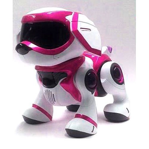 """2013 Tekno 4G Robotic Puppy Dog Pink """" Hot Toy """" front-977275"""