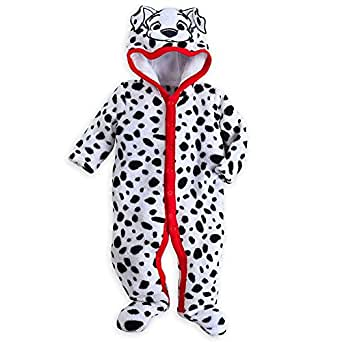 Disney Store 101 Dalmatians Deluxe Hooded Costume Romper, White