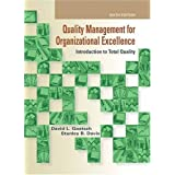 Quality Management for Organizational Excellence: Introduction to Total Quality (6th Edition) ~ David L. Goetsch