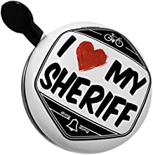 Bicycle Bell I Love my Sheriff by NEONBLOND