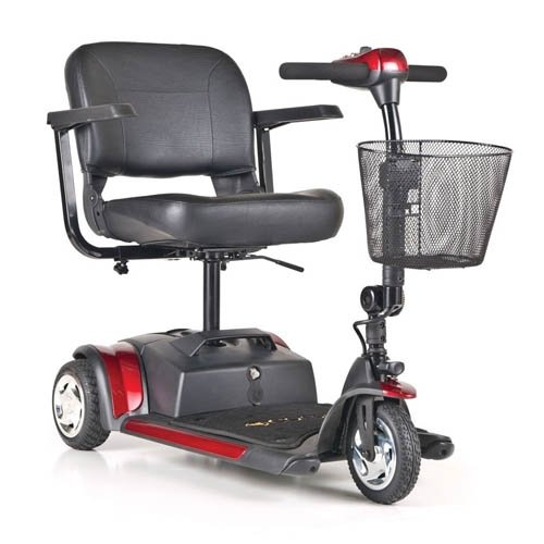 Golden Technologies Gb116 Buzzaround Xl 3-Wheel Electric Scooter