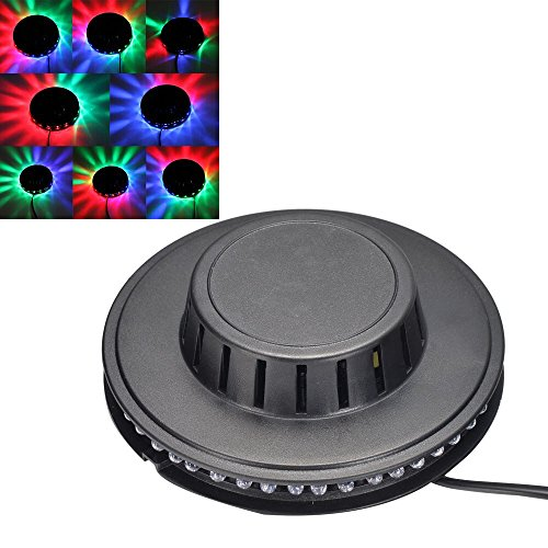 Ljy Sunflower Magic 7-Color Led Rgb Ufo Stage Light For Disco Bar Dj Party Stage Lighting