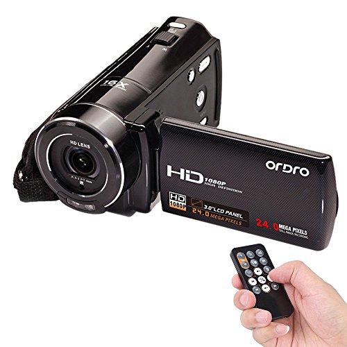 Andoer-ORDRO-1080P-Full-HD-Cmara-de-Vdeo-Digital-HDV-V7-Max-24-megapxeles-16--El-Zoom-Digital-con-30-giratoria-Pantalla-LCD-Apoyo-Deteccin-de-Rostro