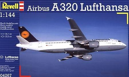 Revell - 4267 - Maquette Classique à Peindre et à Coller - Airbus A320 Lufthansa
