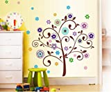 Decals Arts Creative Glass Living Room Bedroom Decorative Wall Stickers