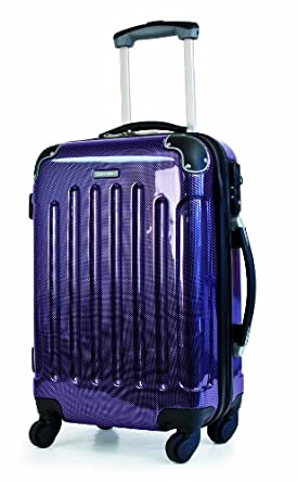 Calvin Klein Luggage Bromely 28 Inch Hardside, Plum, 28 inch