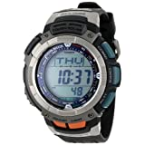 "Casio Men's PAW1100-1V ""Pathfinder"" Sport Watch with Black Resin Band ~ Casio"
