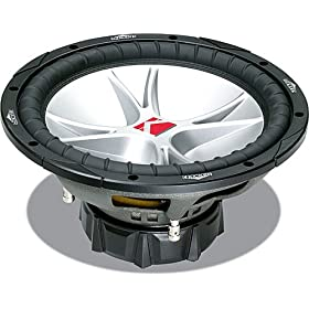 "Kicker CompVR 07CVR104 10"" subwoofer with dual 4-ohm voice coils"
