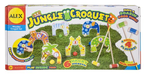 Alex Toys - Active Play, Jungle Croquet, 88J