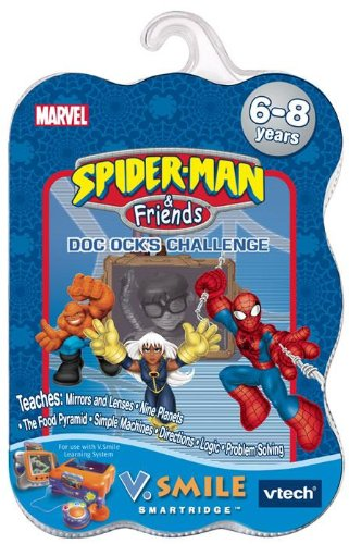 Vtech - V.Smile - Spiderman And Friends 2 : Doc Ock'S Challenge front-1003462