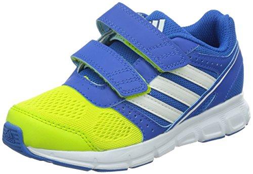 adidas Performance Hyperfast, Unisex-Kinder Laufschuhe, Mehrfarbig (Bright Royal/White/Semi Solar Yellow), 36 2/3 EU (4 Kinder UK)