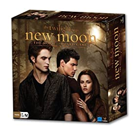 The Twilight Saga:  New Moon -- The Movie Board Game