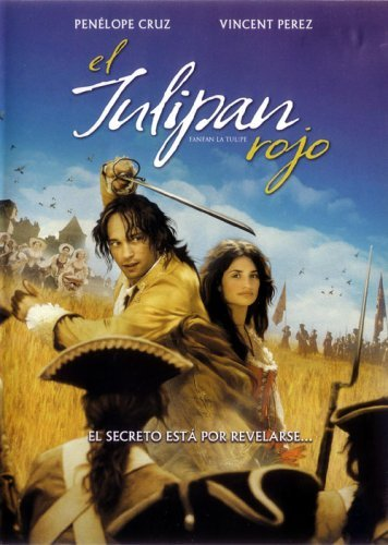 El Tulipan Rojo (Fanfan La Tulipe) [Region 1 & 4 Dvd. Import-Latin America] Penelope Cruz, Vincent Perez (Spanish Subtitles)
