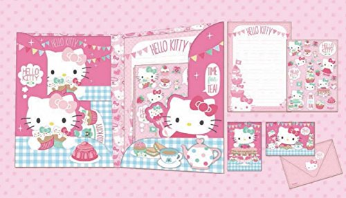 Hello Kitty Tea Party Writting Set