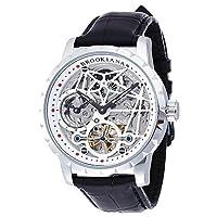 [ブルッキアーナ]BROOKIANA 腕時計 機械式  ジオメットリックスケルトン BA1674-SV メンズ
