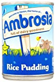 Ambrosia Creamed Rice Pudding 400 g (Pack of 12)