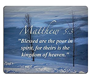 Blessed Are The Poor In Spirit For Theirs Is The Kingdom Of Heaven Amazon.com : Bi...