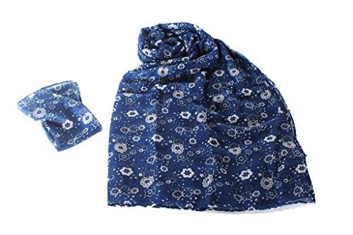 Sciarpa e fazzoletto uomo Lancetti pashmina 3411 blu