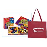 Jelly Belly Bean Boozled Spinner Game and Refill Box Packaged With Storage Tote As Seen
