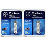 Bayer Contour Next Blood Glucose Test Strips, 100 Strips