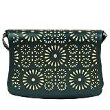 Colors Inc. Women's Party Sling Bag (Dark Green) - VKBLSLNG-10008