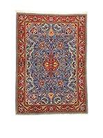 Eden Alfombra Azul/Rojo/Multicolor 109 x 152 cm