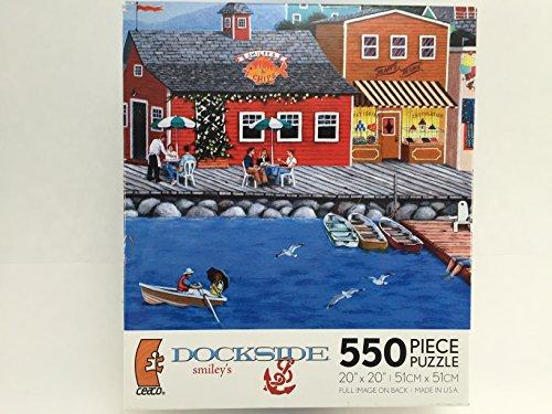 Dockside 550 Piece Puzzle - 1