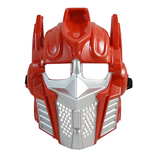 Halloween Robo Power Costume Mask