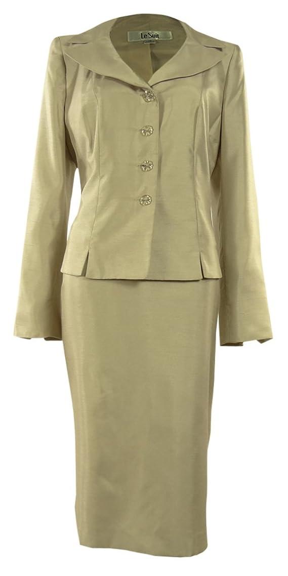 Womens Classic Office Suit Lightweight Jacket Skirt Set