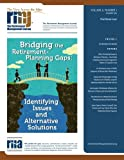 img - for The Retirement Management Journal: Vol. 6, No. 1, Practitioner Issue (Volume 6) book / textbook / text book