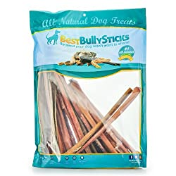 12 Inch Regular Odor Free Premium Bully Sticks - 50 pack