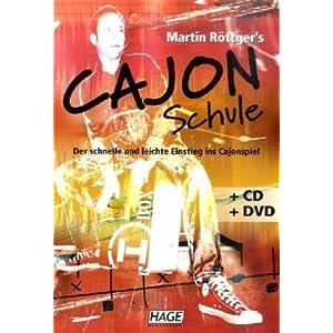 eBook Cover für  Martin R xF6 ttger 39 s Cajon Schule CD DVD Der schnelle und leichte Einstieg ins Cajonspiel
