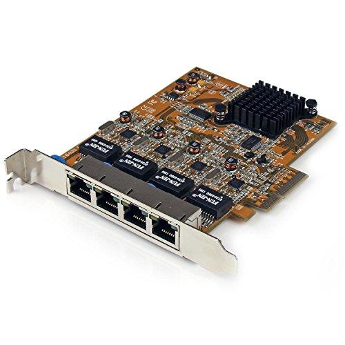 StarTech.com ギガビットイーサネット4P増設PCIe LAN ST1000SPEX42 =△