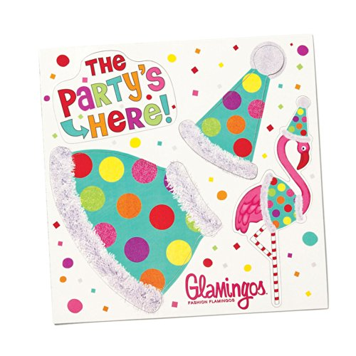 Silvestri Glamingo Flamingo Party Costume Magnet Sheet