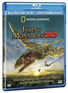 Flying Monsters 3D (Blu-ray 2D/3D+DVD combo pack)