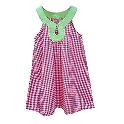 Aummade Girls Dress (Aummade019_Red_4-5 years)