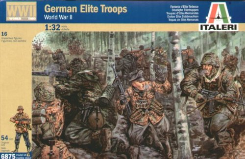 German Elite Troops (16) 1/32 Italeri