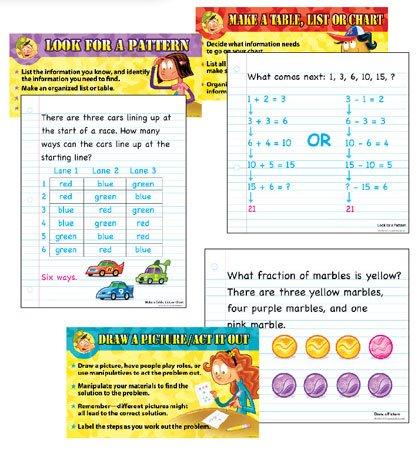 Bulletin Board Math Problem-Solving Strategies