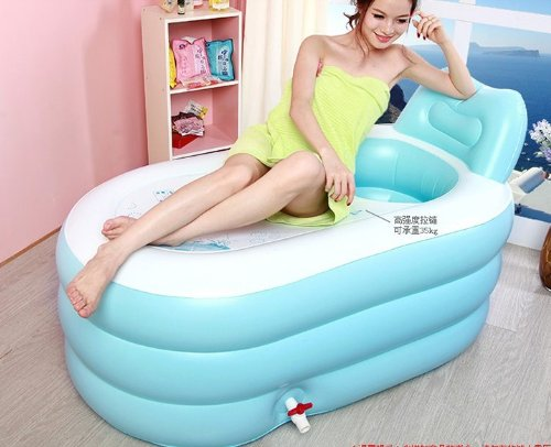 Baby Inflatable Bath Tub front-320736