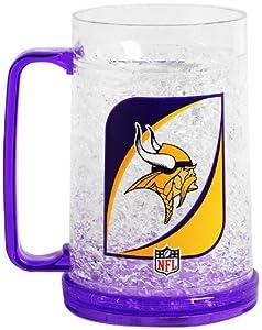 NFL Minnesota Vikings 36-Ounce Crystal Freezer Monster Mug by Duck House
