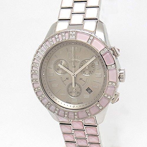 [クリスチャンディオール]Christian Dior 腕時計 クリスタル クロノグラフ CD114135 ユニセックス [並行輸入品]