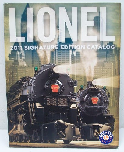 Lionel 2011 Signature Edition Catalog - 1