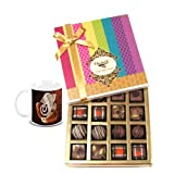 Chocholik Belgium Chocolates - Decadent Truffle And Chocolate Collection Gift Box With Diwali Special Coffee Mug...