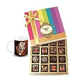 Chocholik Belgium Chocolates - Decadent Truffle And Chocolate Collection Gift Box With Diwali Special Coffee Mug...