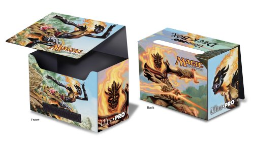 Deck Box - Magic - Ashling the Pilgrim / Flamekin Bladewhirl - Sideloading - Lorwyn 82115