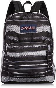 Jansport Superbreak Multi Black Painted Stripes T50106J