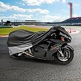 NEH® Motorcycle Bike Cover Travel Dust Storage Cover For Suzuki Katana GSX 600 650 750 1100