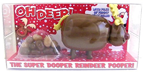 Reindeer Pooper Candy Pooper Dispenser (Crazy Jelly Beans compare prices)