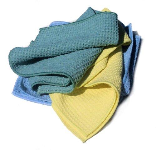 * SALE * Eco Microfibre Cloth Set (waffle design) SPECIAL OFFER!!