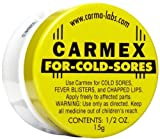 Carmex Carmex Cold Sore Reliever and Lip Moisturizer, Jar 0.5 oz (Quantity of 9)